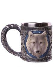 Dekoracyjny wilczy kufel