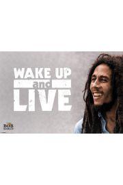 Bob Marley - Obudź się i żyj - plakat