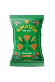 Chipsy Kukurydziane Solone Bezglutenowe Bio 150 G - Amaizin