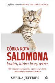 Córka kota Salomona - kotka, która leczy serca