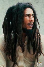 Bob Marley Pin Up - plakat