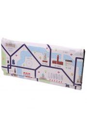 Duża torebka Ted Smith - Mapa Londynu