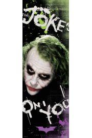 Batman Mroczny Rycerz Joker jokes - plakat