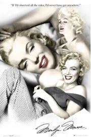 Marylin Monroe Zasady - plakat