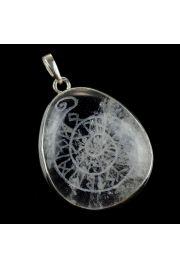 Mandala runiczna na krysztale g�rskim