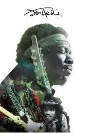 Jimi Hendrix Koncert - plakat