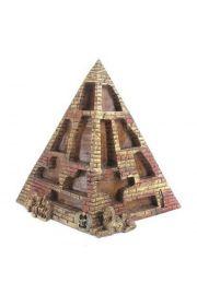 Egipska piramida z miejscami na figurki ludzi