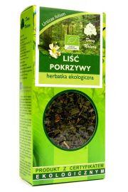 Herbatka Liść Pokrzywy Bio 25 G - Dary Natury