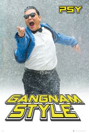 PSY - Gangnam Style - �nieg - plakat