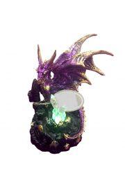 Smok Dark Legends - na zamku z kryształami LED