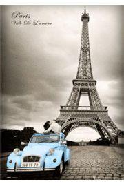 Zakochany Paryż Paris Romance - plakat 3D