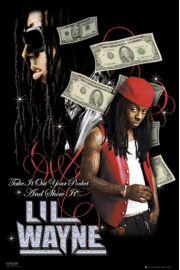Lil Wayne Dollars - plakat