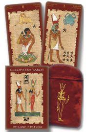 Tarot Kleopatry Deluxe - karty z woreczkiem