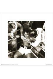 Muhammad Ali Ring Corner - art print