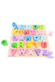 Literki alfabetu Układanka