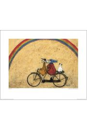 Para na rowerze, T�cza - reprodukcja