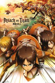 Atak Tytanów. Attack On Titan Atak - plakat