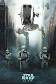 Łotr 1. Gwiezdne wojny Patrol Stormtrooper - plakat