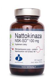 Nattokinaza (60 kapsułek) - suplement diety