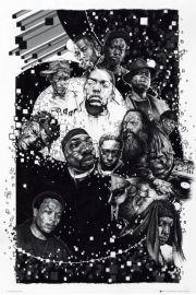 Bogowie Rapu - Rap Producers - plakat