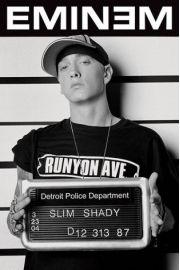 Eminem Mugshot - plakat