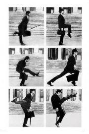 Monty Python - Ministerstwo Głupich Kroków - plakat