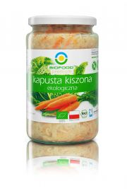 Kapusta Kiszona Bio 700G (570G) - Bio Food