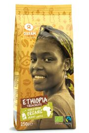 Kawa Mielona Gold Arabica Etiopia Fair Trade Bio 250 G - Oxfam