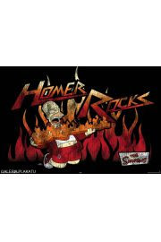 The Simpsons - Homer Rocks - plakat
