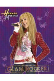Miley Cyrus Hannah Montanaglam rocker - plakat