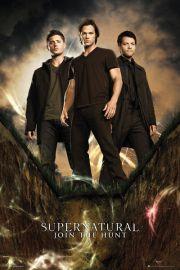 Supernatural Bohaterowie - plakat