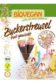 Posypka Cukrowa Kolorowa Wi�rki Bezglutenowa Bio 70 G - Bio Vegan