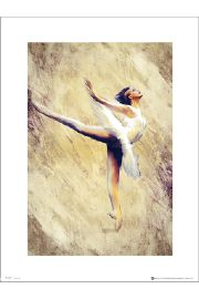Ballet Ballerina - art print