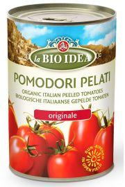 Pomidory Pelati Bez Sk�ry W Puszce Bio 400 G - La Bio Idea