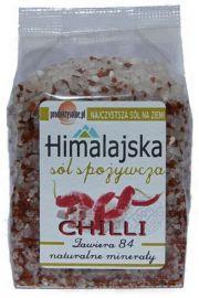 Sól himalajska z chilli, uzupełniacz do młynków 300g