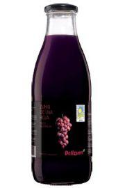 Sok Z Czerwonych Winogron Bio 1 L - Delizum