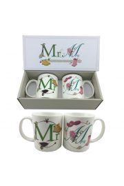 Podwójny zestaw kubków Jack Evans - Mr & Mrs