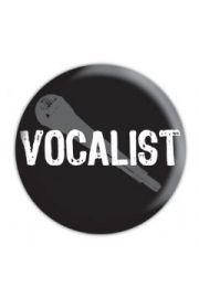 VOCALIST - przypinka