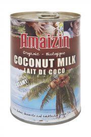 Mleczko Kokosowe (17% Tłuszczu) Bio 400 Ml - Amaizin