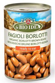 Fasolka Borlotti (Puszka) Bio 400 G - La Bio Idea
