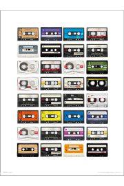 Cassette Tapes - art print