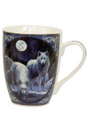 Kubek z porcelany Lisa Parker - Zimowy Wilk