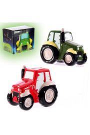 Skarbonka w kształcie traktora
