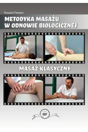 Masaż Klasyczny DVD Ryszard Pawelec