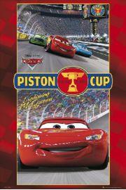 Disney Cars - Auta - Wy�cig - plakat