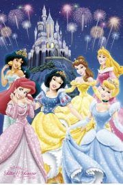 Disney Princess Modne Ksi�niczki - plakat