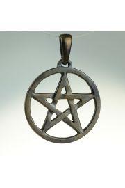 Pentagram ażurowy, brąz