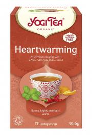 Herbata YOGI TEA Radość Życia HEARTWARMING - ekspresowa