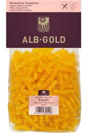 Makaron (Kukurydziano - Ry�owy) Fusilli Bezglutenowy Bio 250 G - Alb-Gold