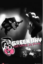 Green Day Awesome as Fuck - plakat